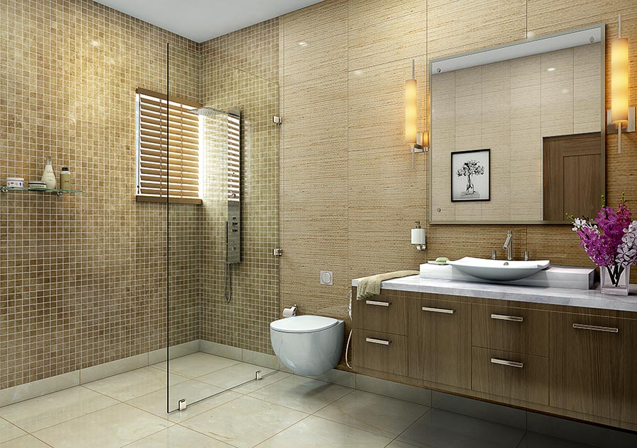 2 3 bhk residential affordable apartments in greater noida for Economic bathroom designs