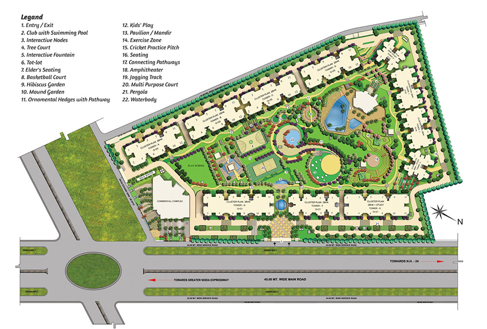 2 BHK, 3 BHK Apartment in Greater Noida West
