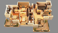 3 BHK flats in Noida sector 150