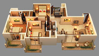 3 BHK apartments in sector 150 Noida