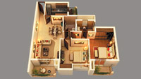 2 BHK apartment in sector 150 Noida