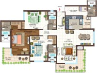 3 BHK apartments in Noida sector 150