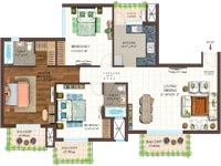 3 BHK flats in sector 150 Noida