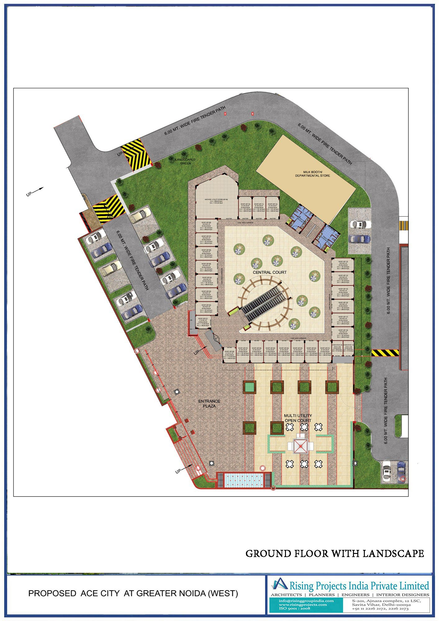 2/3 Bhk Residential Apartments site plan